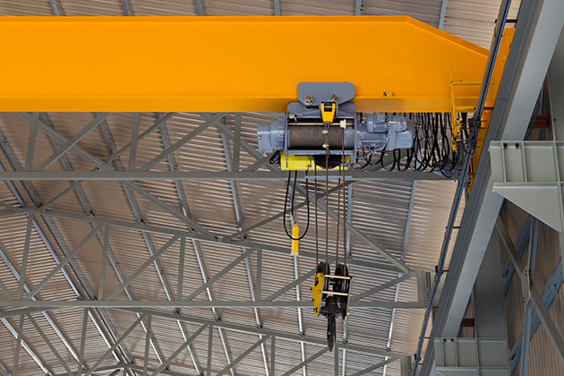 Cranes need Reliable Braking Systems