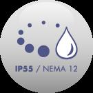 IP55 / NEMA 12