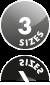 3 Frame Sizes