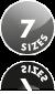 7 Frame Sizes