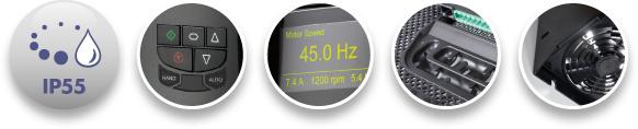 Optidrive HVAC features