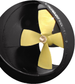 Marine bow thruster control