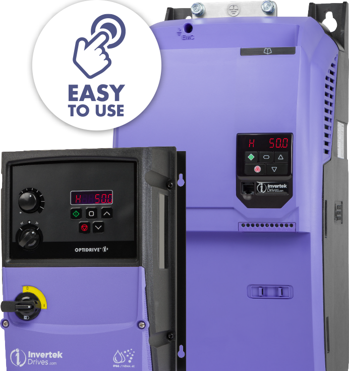 Easy to Use Variable Frequency Drives
