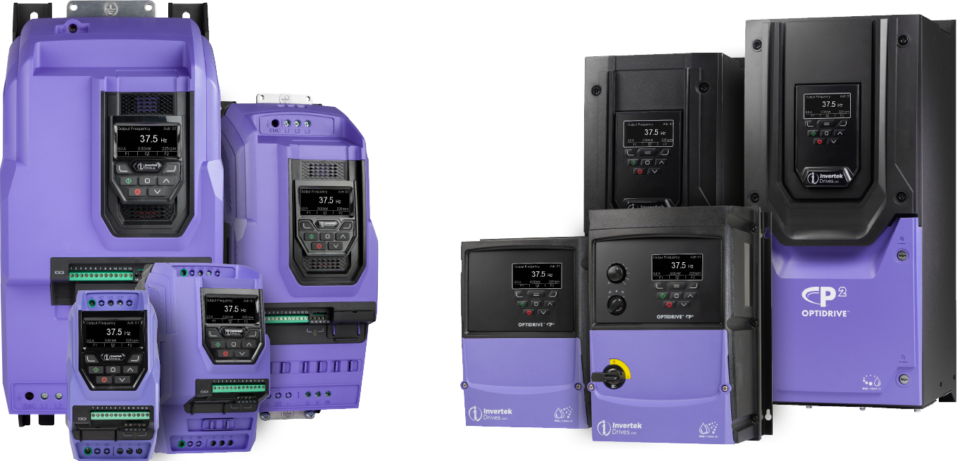 Optidrive P2 Variable Frequency Drives