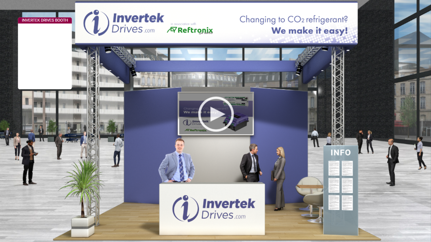 Invertek Drives to exhibit at global natural refrigerant technology exhibition