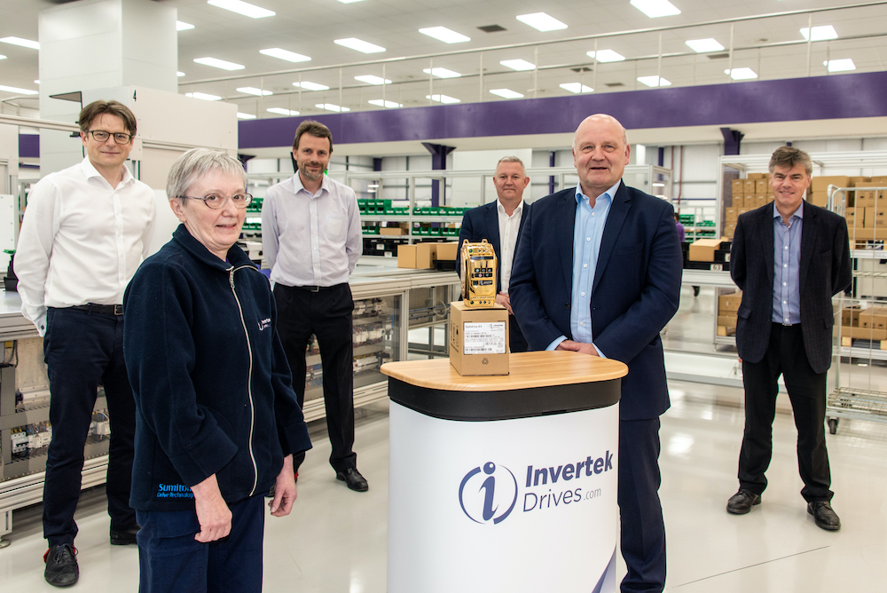 Invertek produces its two millionth variable frequency drive