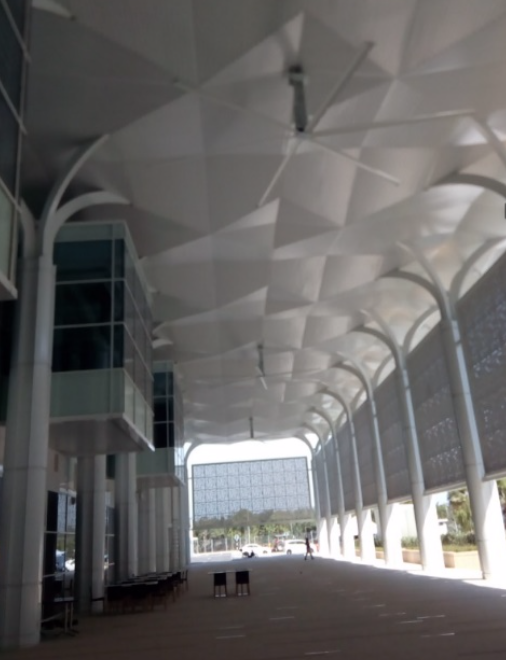 Invertek Drives Optidrive E3 control large cooling fans at Kuala Lumpur Airport